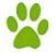hondenvoetje-bullit-point-groen