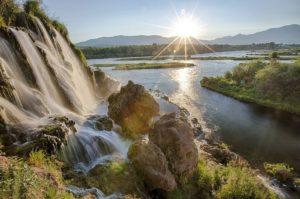 Onvoorwaardelijk delen waterval